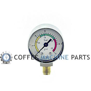 espresso machine pressure