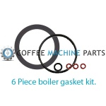 Gaggia Classic 6-Pc Tune up Gasket Kit.